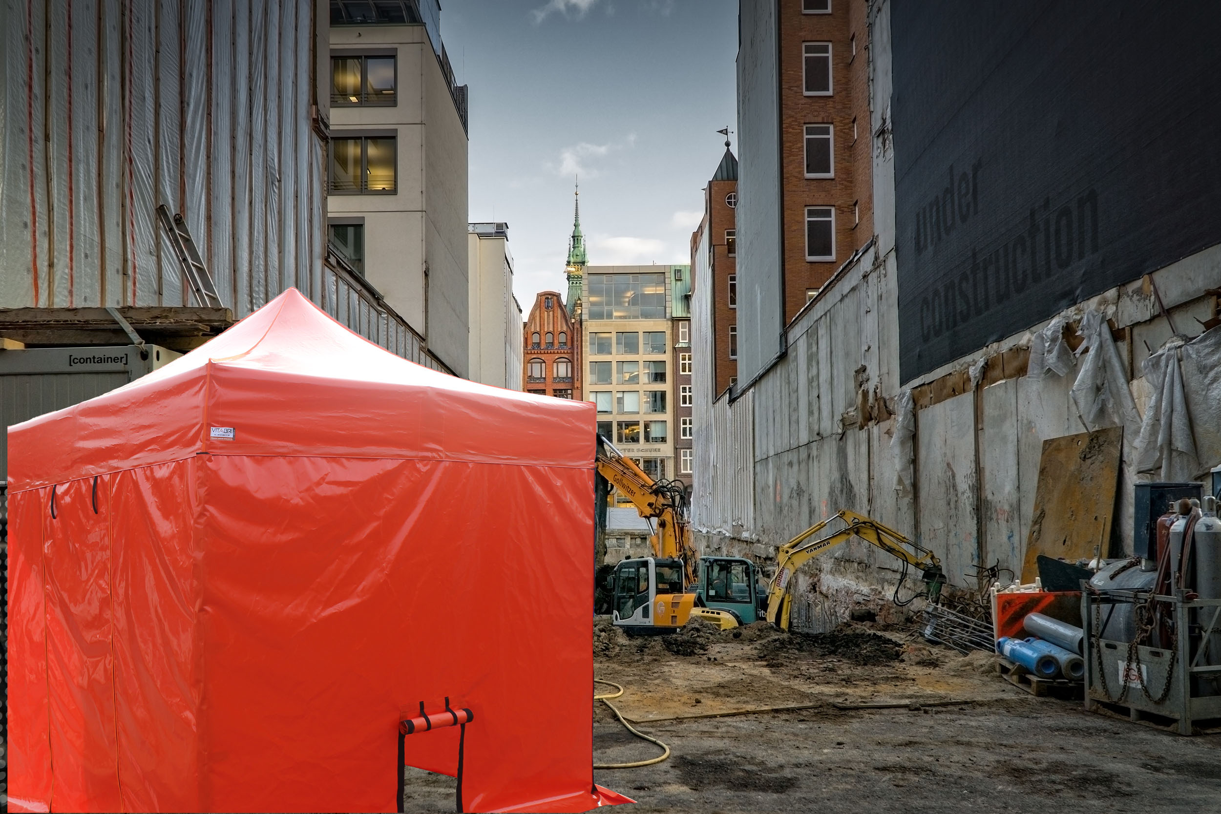Namiot budowlany