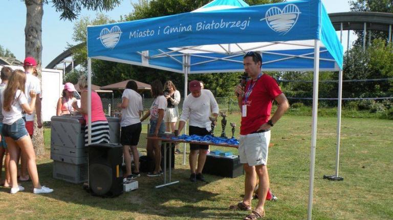 namiot dla urzędu miasta gminy białobrzegi vitabri