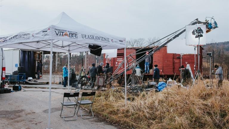 namioty dla producentów filmowych