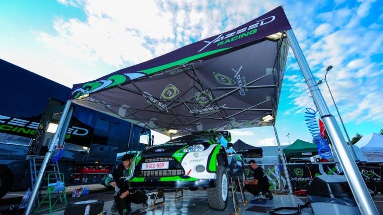 stanowisko serwisowe namiot rajdowy v2 5x5m yazeed racing