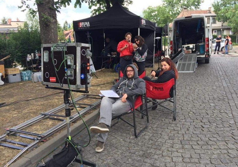 namioty dla filmowców