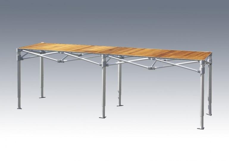 składany stolik handlowy VITABRI PRO 260cm