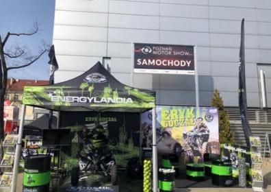 Namiot reklamowy V2 Energylandia