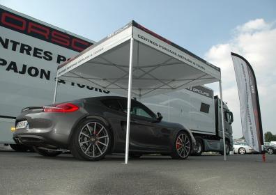 Namiot reklamowy VITABRI Porsche V3 3x3m