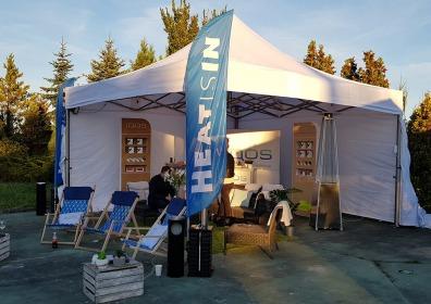 Namiot reklamowy VITABRI V2 5x5m