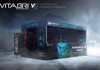 Namiot reklamowy VITABRI V3 3x4m