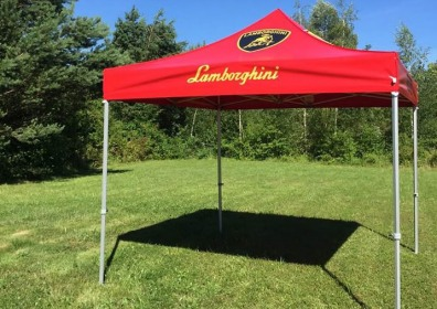 Namiot reklamowy VITABRI V3 Lamborghini