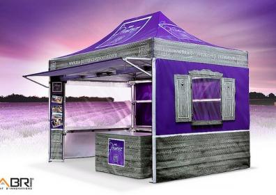Namiot z nadrukiem VITABRI V3 2x3m Nomadshop