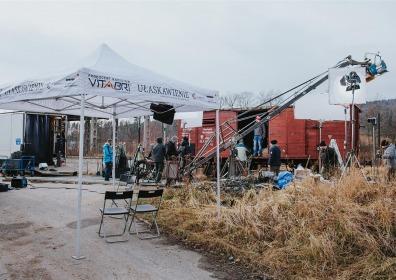 Namioty dla producentów filmowych VITABRI