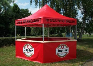 Namioty dla producentów piwa VITABRI