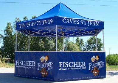 Namioty dla producentów piwa