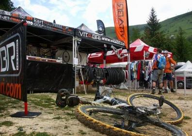 Namioty VITABRI 3x3 rowery sport