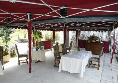 Zadaszenie restauracji VITABRI V3 3x5m