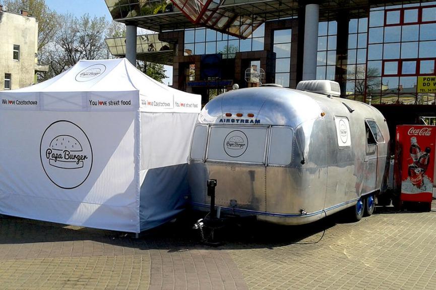 Namiot cateringowy VITABRI V3 2x3 m PAPABURGER