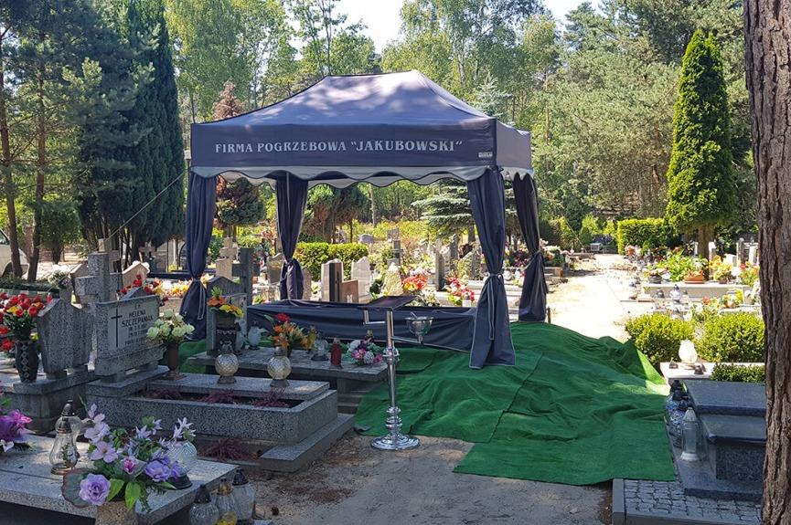 Namiot pogrzebowy V3 3x3m