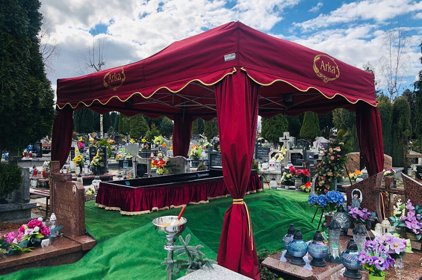 Namiot pogrzebowy V3 3x4,5m Arka