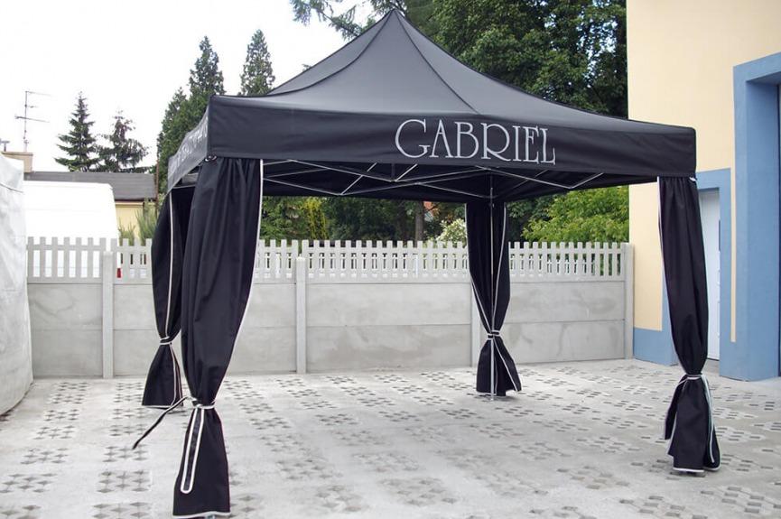 Namiot pogrzebowy z nadrukiem VITABRI