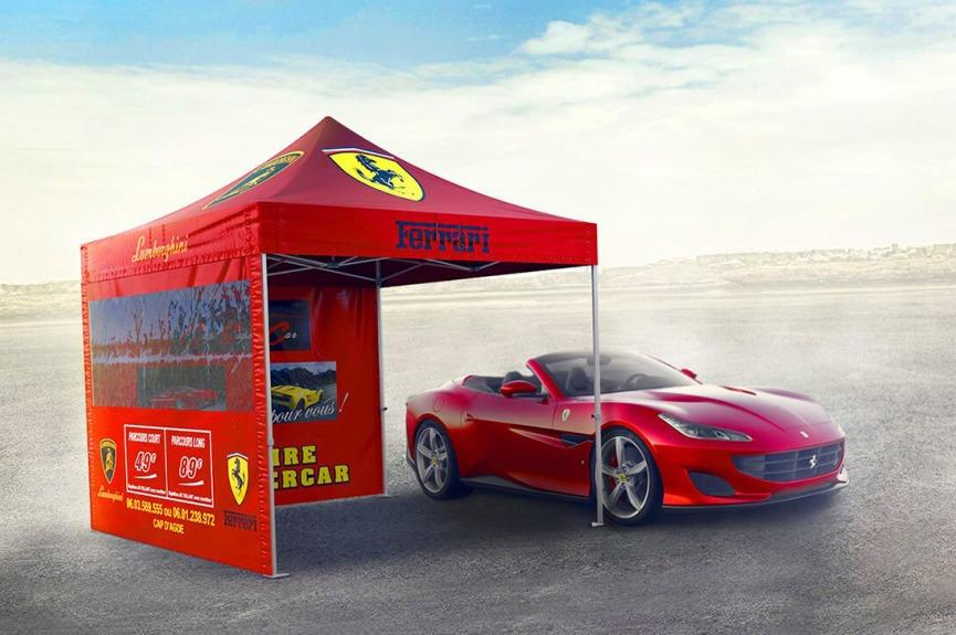 Namiot reklamowy VITABRI Ferrari V3