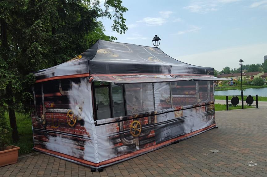 Namiot reklamowy VITABRI V3 3x6m Legendia
