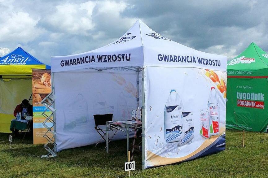 Namiot reklamowy VITABRI V3 Grupa Azoty