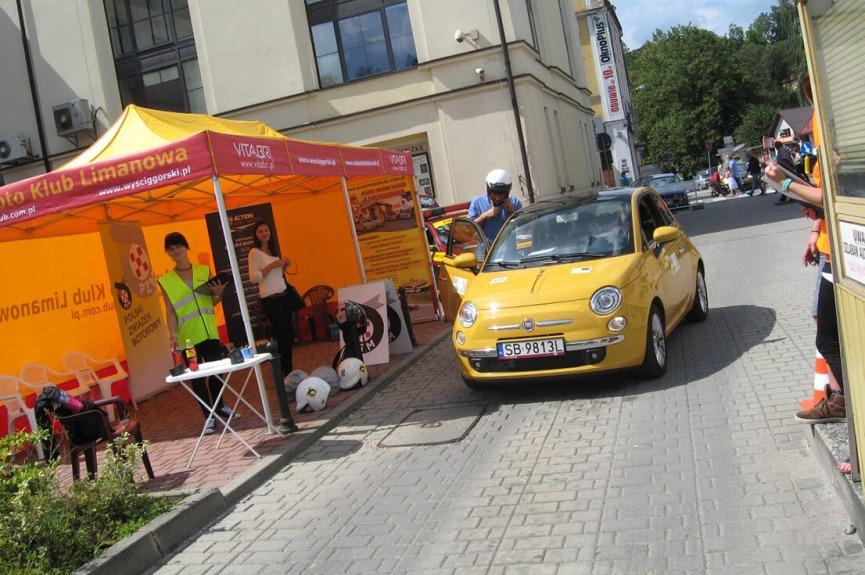 Namiot reklamowy VITABRI wyścig Limanowa