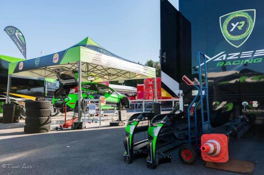 Namiot VITABRI stanowisko mechaników Yazeed