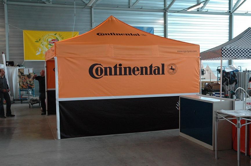 Namiot z nadrukiem