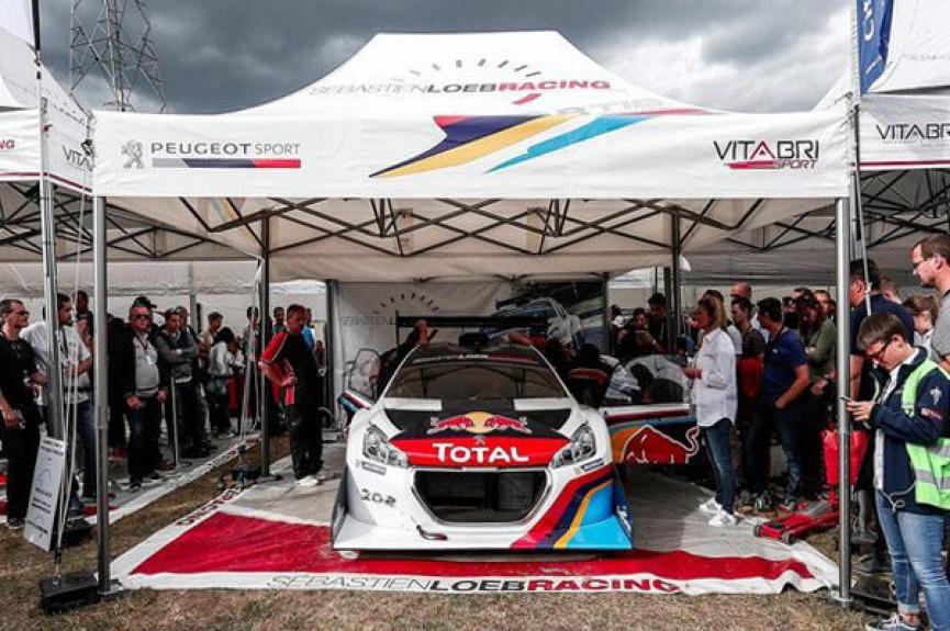 Namioty dla motoryzacji VITABRI Peugeot