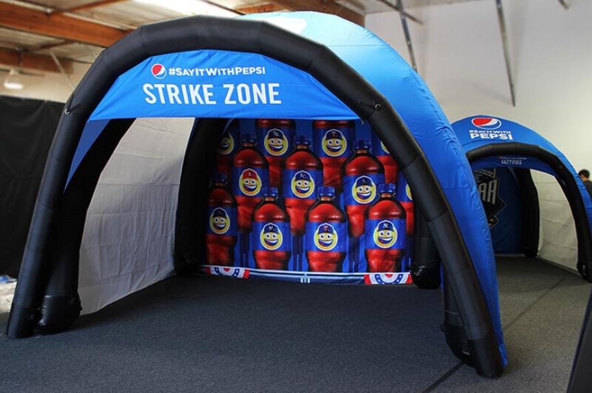 Namioty dmuchane VITABRI Airdome Pepsi