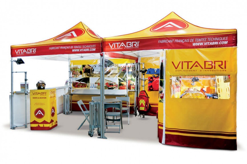 Namioty reklamowe VITABRI medyczne
