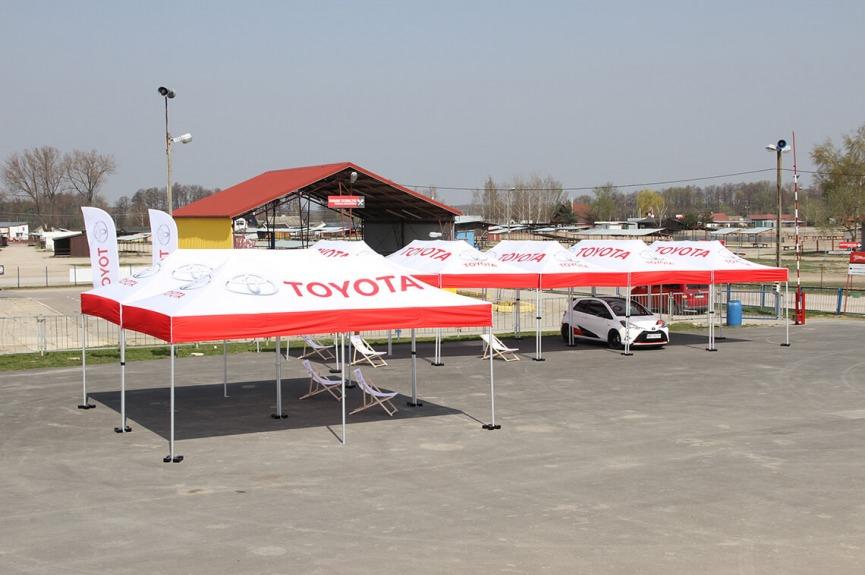 Namioty reklamowe VITABRI V3 3x6m Toyota