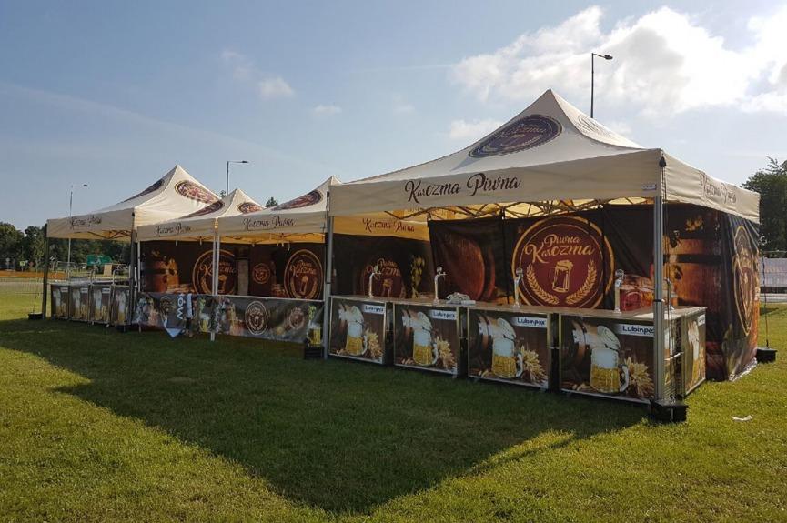 Namioty reklamowe z nadrukiem VITABRI Lubinpex