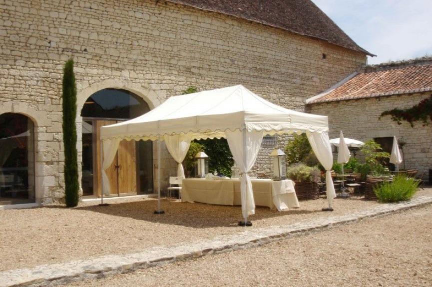 Namioty restauracyjne VITABRI V3 3x4m beżowy