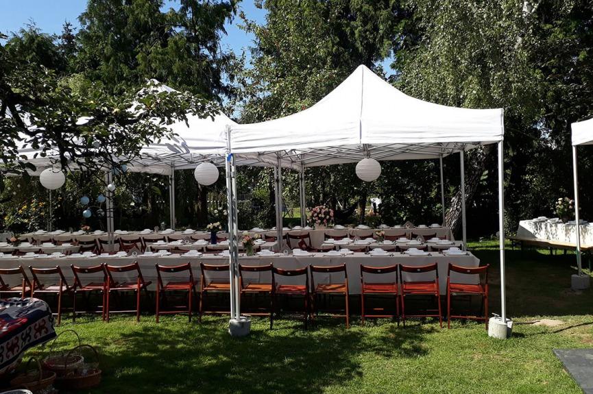 Namioty weselne VITABRI V3 3x3m