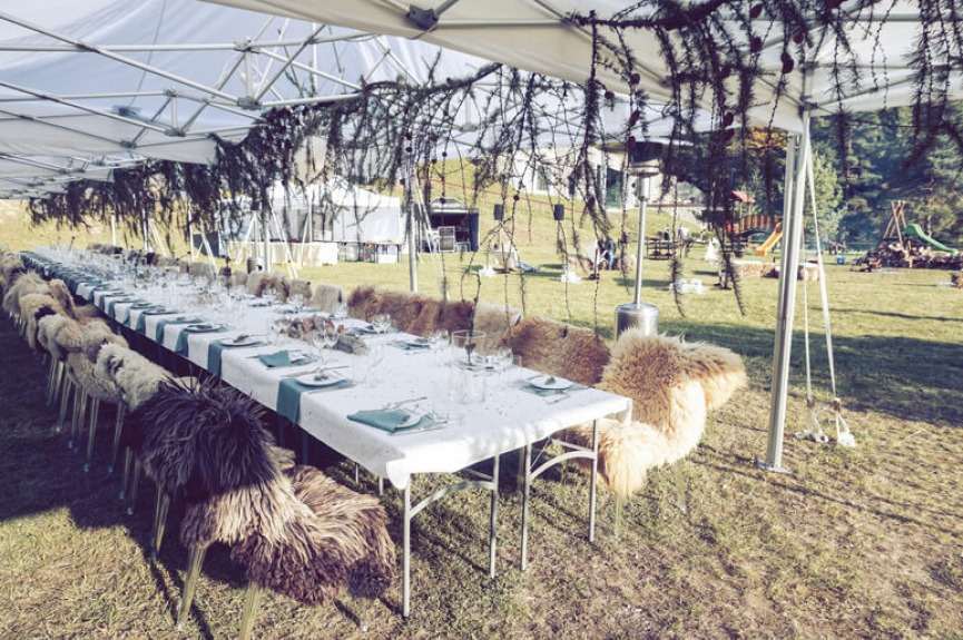 Wynajem namiotów na wesela VITABRI