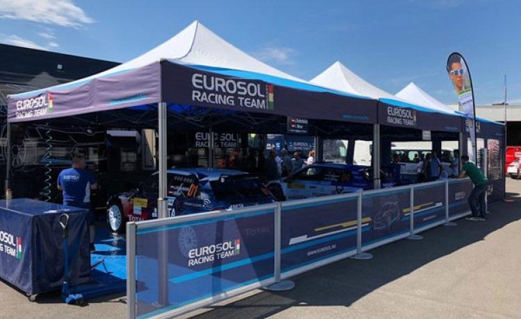 Namioty VITABRI dla Eurosol Racing Team - V2 5x5