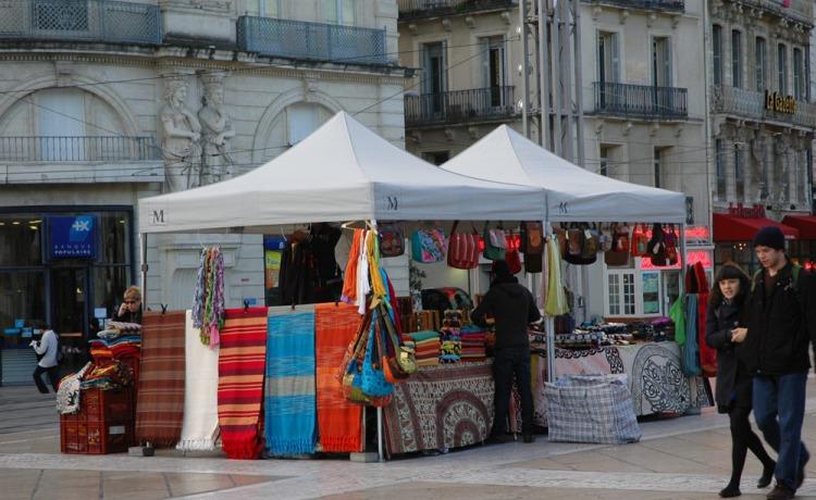 namiot handlowy VITABRI 3x3m ekspresowy
