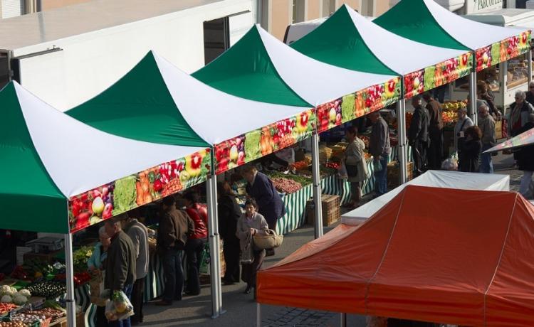 namiot handlowy VITABRI V2 3x3m namioty szybkorozkladane rynki