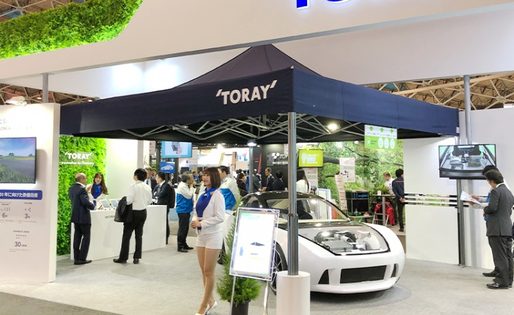 namiot handlowy VITABRI V2 5x5m wystawy targi