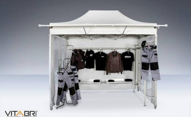 namiot handlowy VITABRI V3 2x3m
