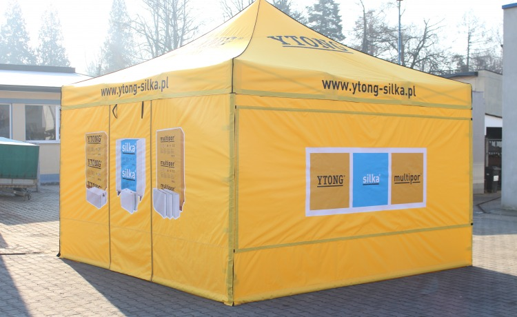 namiot reklamowy vitabri 4x4m ytong