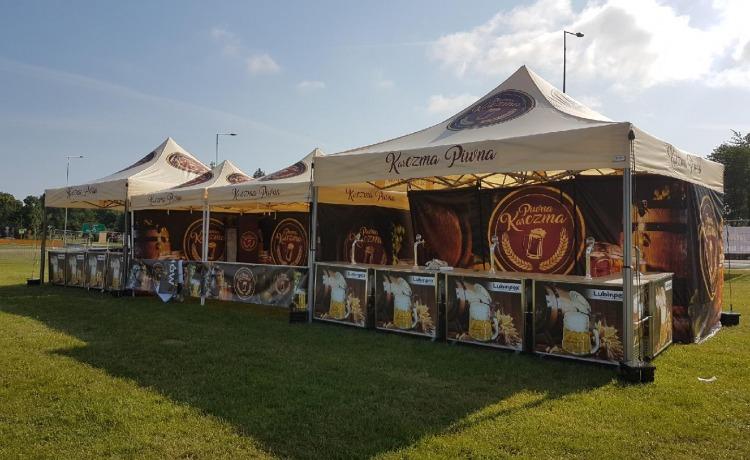 namiot wystawowy VITABRI V2 5x5m Lubinpex