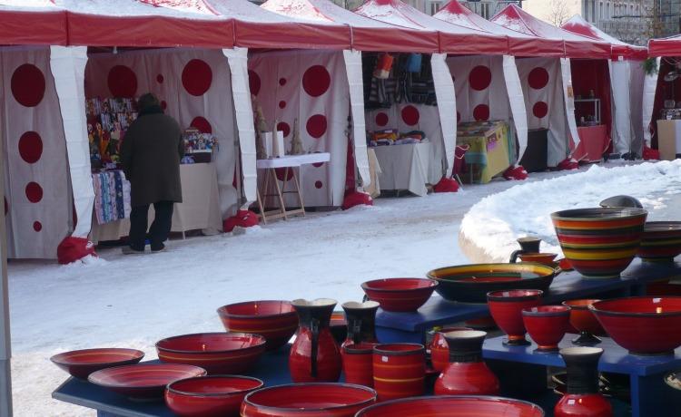 namioty handlowe VITABRI V3 3x3m jarmark Bożonarodzeniowy