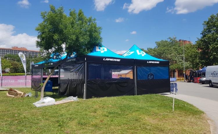 namioty promocyjne VITABRI V5 z nadrukiem