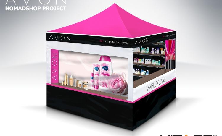 stoisko wystawowe vitabri v3 namiot dla avon