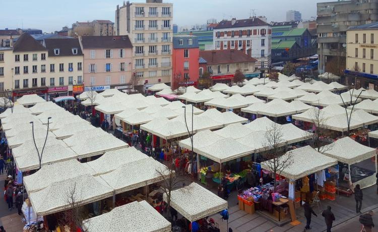 targ handlowy miasto paryż VITABRI V3 2x3m