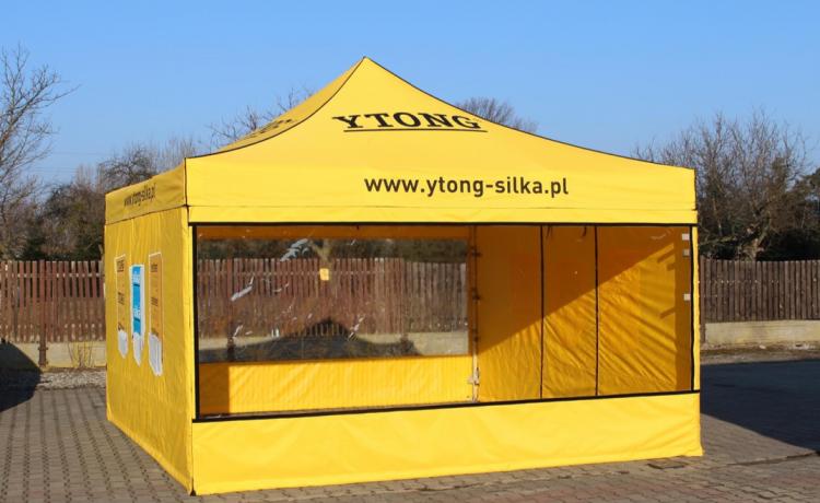 namioty reklamowe vitabri konfiguracje poszycia namiotów