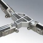 Wzmacniany aluminiowy łącznik 3-ramienny