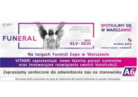 VITABRI na targach Funeral Expo w Warszawie - namioty pogrzebowe