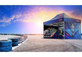 Namioty VITABRI dla ekip rajdowych